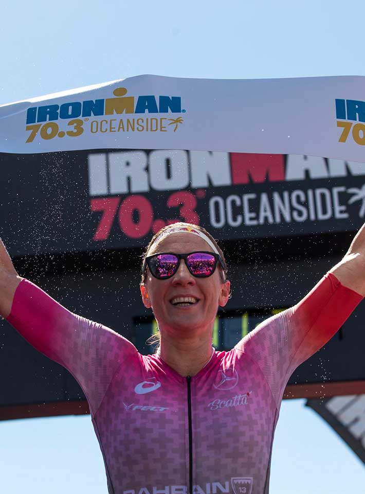 Daniela Ryf wins in Oceanside